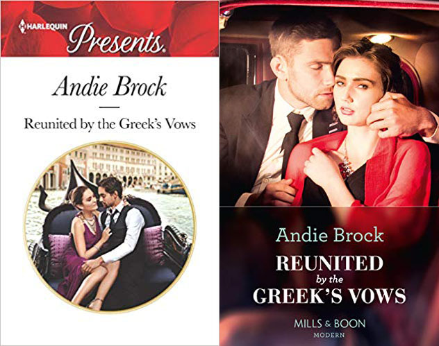 Reunited by the Greeks Vows NA cover